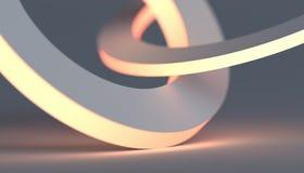 Abstrakter Hintergrund Minimalistic 3D stock abbildung