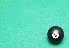 Abstrakter Hintergrund mit Billiardkugel Lizenzfreies Stockbild