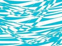 Abstrakter Hintergrund mit blauer Welle Lizenzfreie Stockfotografie
