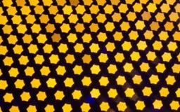 Abstrakter Hintergrund mit bokeh defocused Lichtern lizenzfreies stockbild