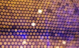 Abstrakter Hintergrund mit bokeh defocused Lichtern lizenzfreie stockbilder