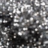 Abstrakter Hintergrund mit bokeh defocused Lichtern Stockfotografie