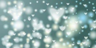 Abstrakter Hintergrund mit bokeh Effekt kann verwendet werden Lizenzfreie Stockbilder