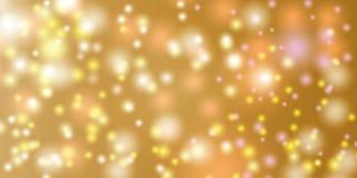Abstrakter Hintergrund mit bokeh Effekt kann verwendet werden Lizenzfreies Stockbild