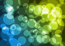 Abstrakter Hintergrund mit bokeh Effekt. Vektor. Lizenzfreies Stockbild