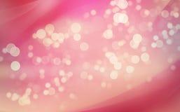 Abstrakter Hintergrund mit bokeh Leuchten lizenzfreies stockfoto