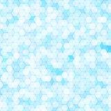 Abstrakter Hintergrund mit bunten Hexenpolygonen vektor abbildung