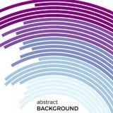 Abstrakter Hintergrund mit bunten Linien des hellen Regenbogens Farbige Kreise mit Platz für Ihren Text Stockbild