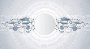 Abstrakter Hintergrund mit bunten Wellen Vektor Elegante wellenförmige Auslegung Lizenzfreie Stockfotos