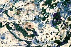Abstrakter Hintergrund mit den reichen, hellen Farben Stockbild