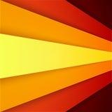 Abstrakter Hintergrund mit den roten und orange Schichten Lizenzfreie Stockfotografie
