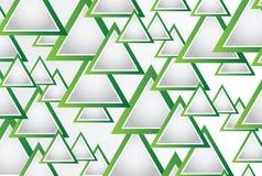 Abstrakter Hintergrund mit Dreiecken und Raum für Ihre Mitteilung Stockfotografie