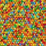 Abstrakter Hintergrund mit dreieckigem Muster vektor abbildung
