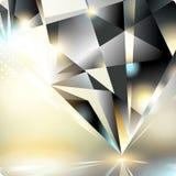 Abstrakter Hintergrund mit einem Kristall. Eps10. Lizenzfreies Stockfoto