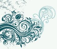 Abstrakter Hintergrund mit einem Muster lizenzfreie abbildung