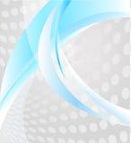 Abstrakter Hintergrund mit Elementen von Linien und von spo Lizenzfreie Stockbilder