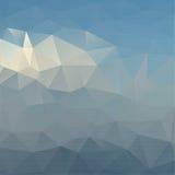 Abstrakter Hintergrund mit farbigen Dreiecken Lizenzfreies Stockbild