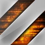 Abstrakter Hintergrund mit farbigen Linien Stockbilder