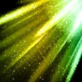 Abstrakter Hintergrund mit farbigen Linien und Licht Lizenzfreie Stockfotografie