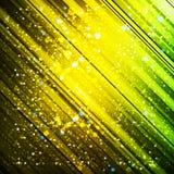 Abstrakter Hintergrund mit farbigen Linien und Licht Stockfoto