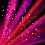 Abstrakter Hintergrund mit farbigen Linien und Licht Lizenzfreies Stockfoto