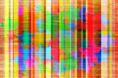 Abstrakter Hintergrund mit Farbstreifen. Lizenzfreie Stockbilder