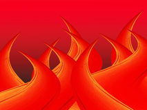 Abstrakter Hintergrund mit Flamme Stockbild