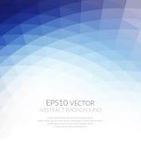 Abstrakter Hintergrund mit geometrischem Muster von Dreiecken Schatten des Blaus Die Beschaffenheit der Oberfläche und der Ränder lizenzfreies stockfoto