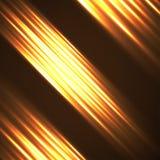 Abstrakter Hintergrund mit glühenden Zeilen Stockbild