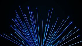 Abstrakter Hintergrund mit Glasfasern Wiedergabe 3d vektor abbildung