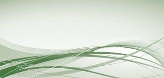 Abstrakter Hintergrund mit grünen Farbtönen vektor abbildung