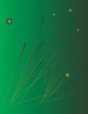 Abstrakter Hintergrund mit grünen Farbtönen stock abbildung