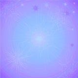 Abstrakter Hintergrund mit grellem Glanz Lila blaue Illustration Lizenzfreie Stockfotos
