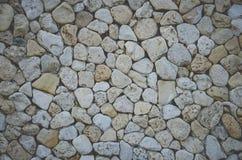 Abstrakter Hintergrund mit groben Steinen Stockfotografie