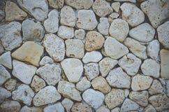 Abstrakter Hintergrund mit groben Steinen Stockfotos