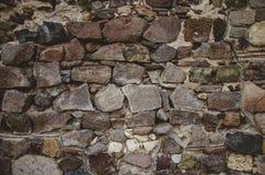 Abstrakter Hintergrund mit groben Steinen Lizenzfreie Stockfotografie