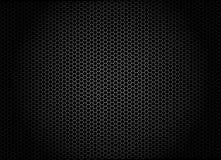 Abstrakter Hintergrund mit Hexagonen Stockfotos
