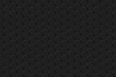 Abstrakter Hintergrund mit Hexagonen Stockbild