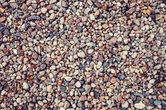 Abstrakter Hintergrund mit Kieseln - Seesteine lizenzfreies stockbild