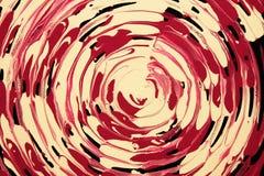 Abstrakter Hintergrund mit konzentrischen Kreisen Stockfotografie