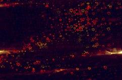 Abstrakter Hintergrund mit leuchtenden mehrfarbigen Sternen Stockbild