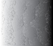 Abstrakter Hintergrund mit lila Blumen Lizenzfreie Stockfotos