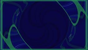 Abstrakter Hintergrund mit Neondreiecken Nahtlose Schleife Neonplanquadrat-Schleifen-Hintergrund Abstraktes Dreieck neon stock video