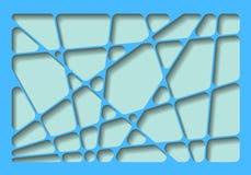 Abstrakter Hintergrund mit Netz und Schatten Lizenzfreies Stockfoto