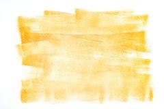 Abstrakter Hintergrund mit orange Farbenanschlägen Stockbilder