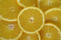 Abstrakter Hintergrund mit orange Scheiben Lizenzfreie Stockfotos