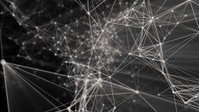 Abstrakter Hintergrund mit Partikeln lizenzfreie abbildung