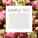 Abstrakter Hintergrund mit Platz für Text Lizenzfreie Stockbilder