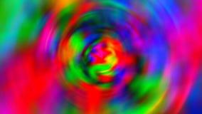 Abstrakter Hintergrund mit psychedelischer Kunst vektor abbildung
