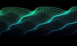 Abstrakter Hintergrund mit Punktfarbe Zusammenfassungsgeräusche kreativ Auch im corel abgehobenen Betrag stock abbildung